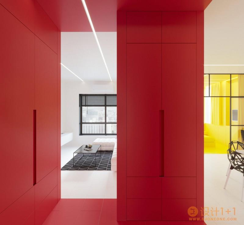 纯色和几何形状:荷兰风格派(De Stijl)家居装修艺术
