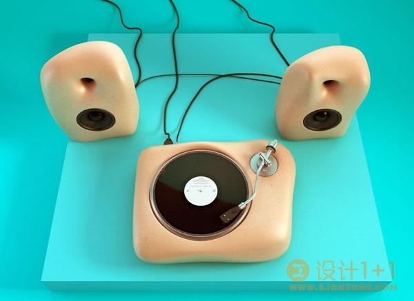 英国设计师ChrisLabrooy创意3D艺术作品