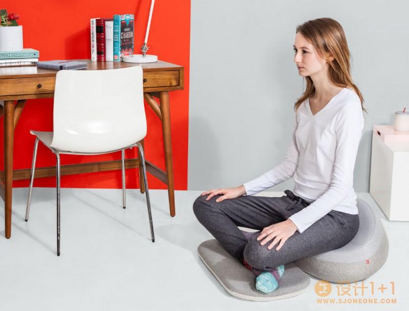 符合人体工程学的坐垫 靜坐不再腰酸背痛了