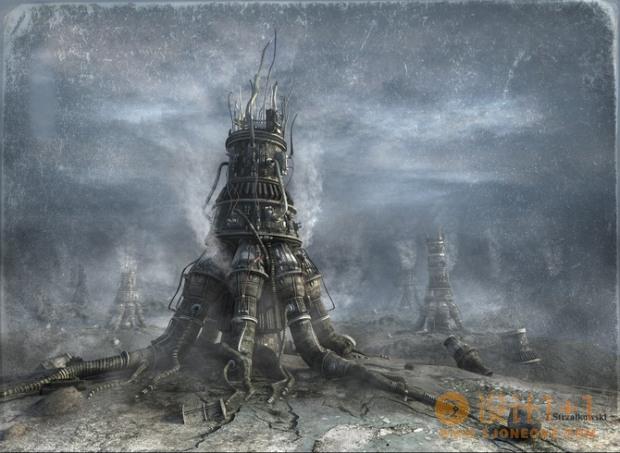TomaszStrzalkowski未来幻想3D场景