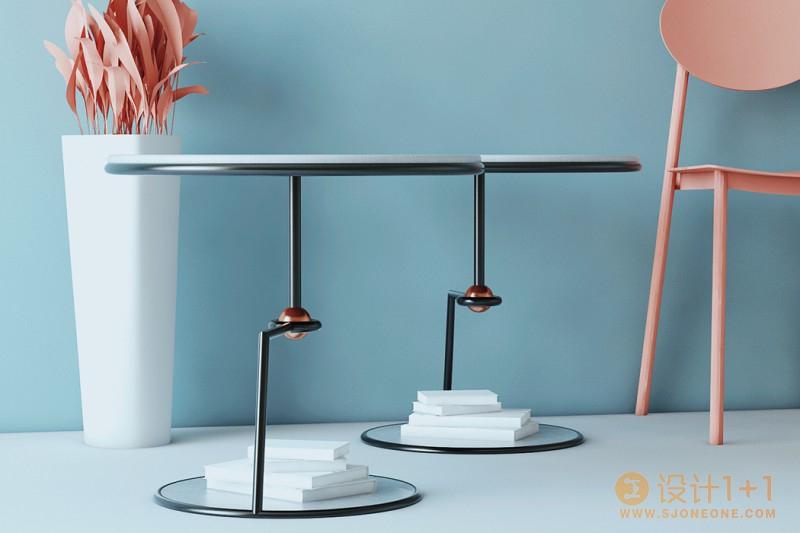 独特的Seron边桌设计
