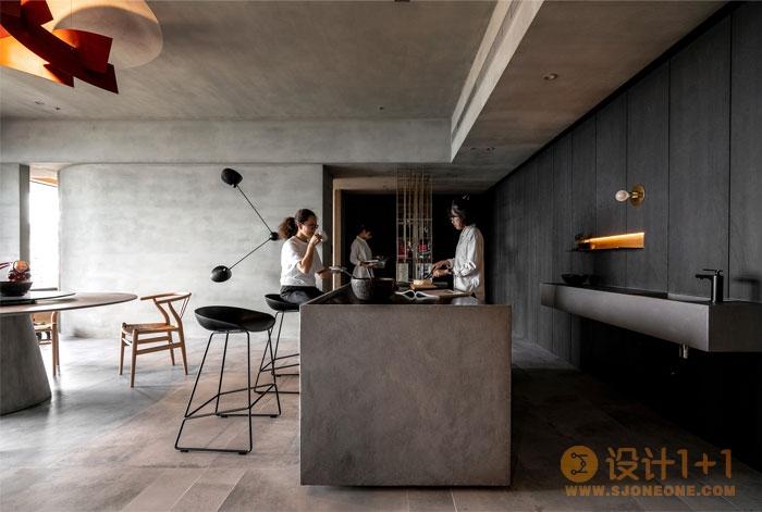 台北黑暗气氛公寓设计