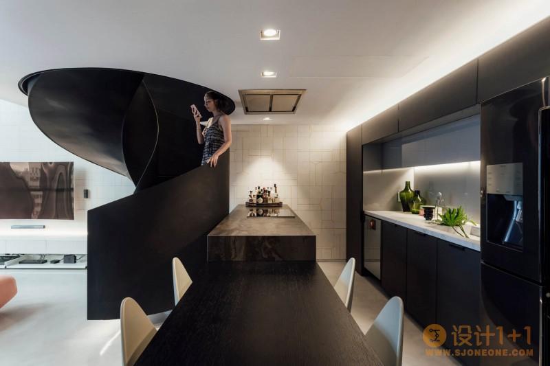 巴西59平米复式阁楼设计
