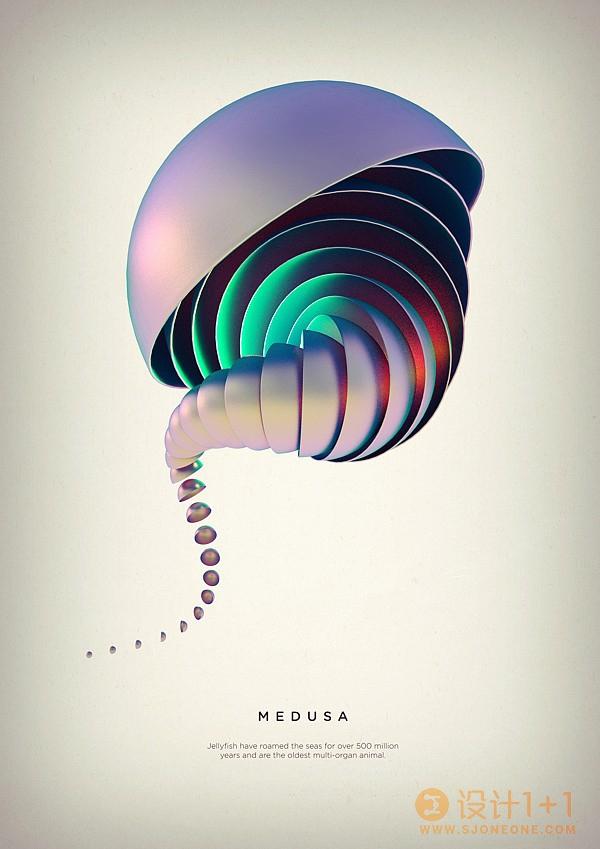 美丽的螺旋:Črtomir Just三维作品欣赏