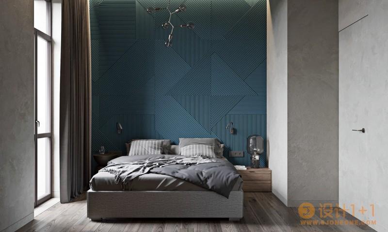 灰蓝配色方案:华丽而简约的家居装修