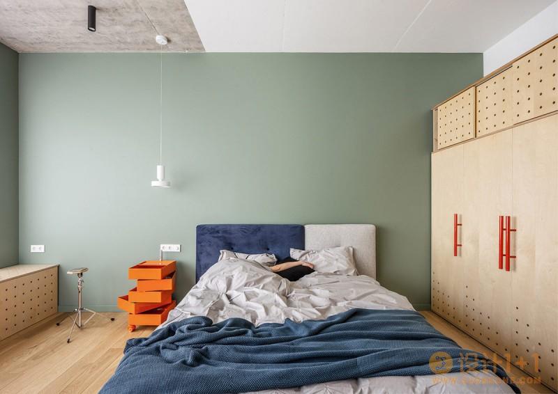 2套公寓合并,只为给孩子创造大型玩乐空间