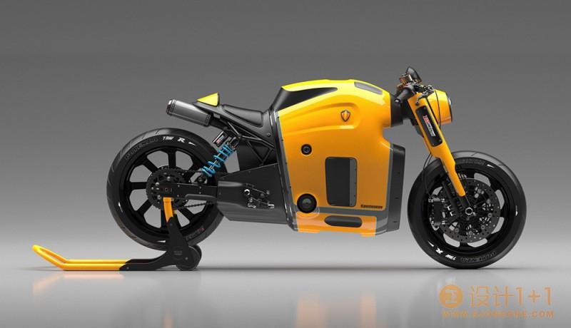 Burov Art: Koenigsegg概念摩托车设计