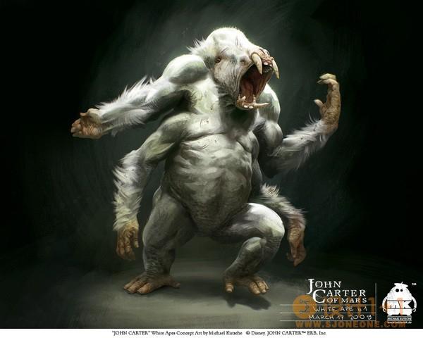 JohnCarter(异星战场)人物角色设计