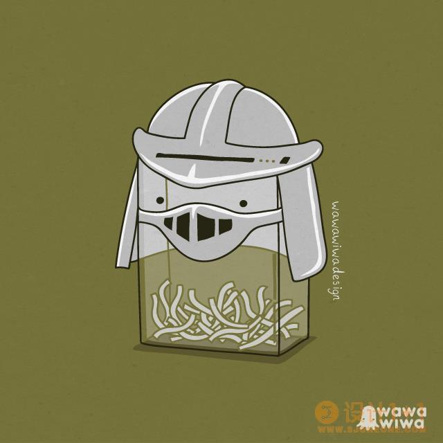 Wawawiwa幽默风趣的插画作品欣赏