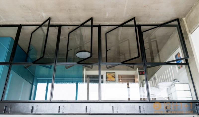 伦敦现代前卫风格包豪斯loft设计