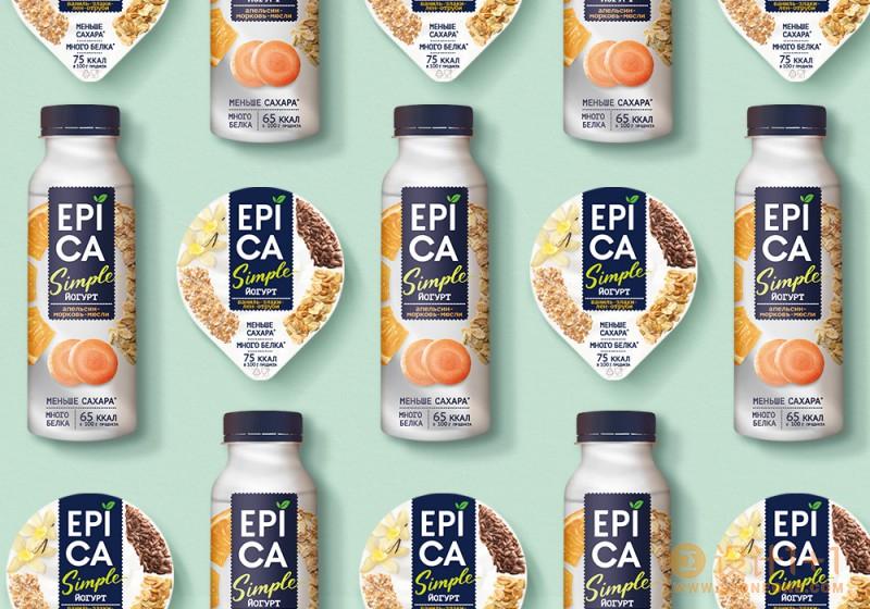 Epica Simple酸奶包装设计
