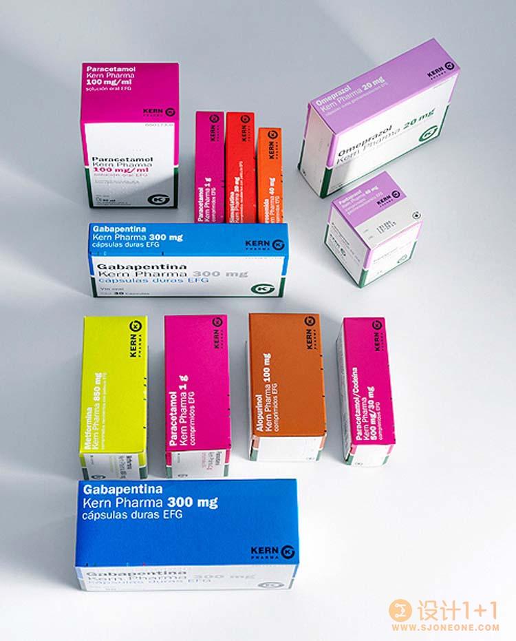 20款国外药品包装集锦