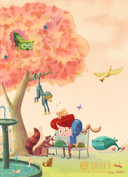 Lena Podesta童话风格插画欣赏