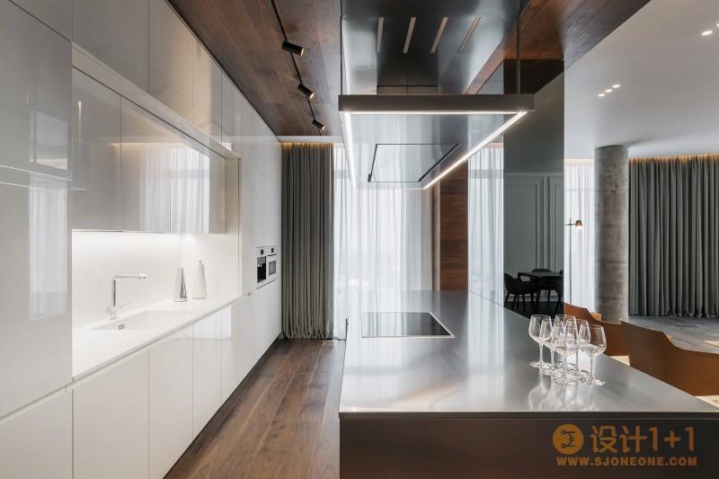 乌克兰Diamond现代风住宅设计