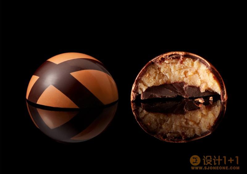 Yaroslav Danylchenko令人垂涎的精美巧克力糖果摄影