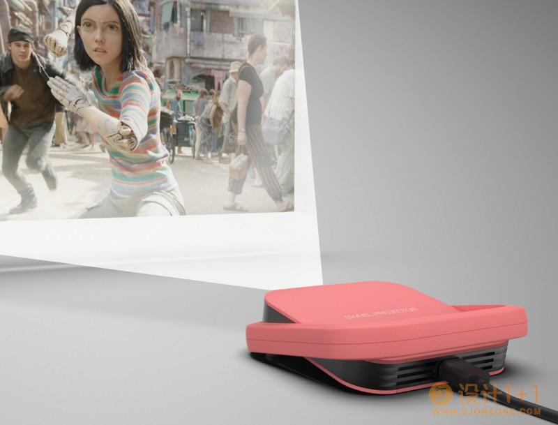 Swivel Projector迷你便携式投影仪