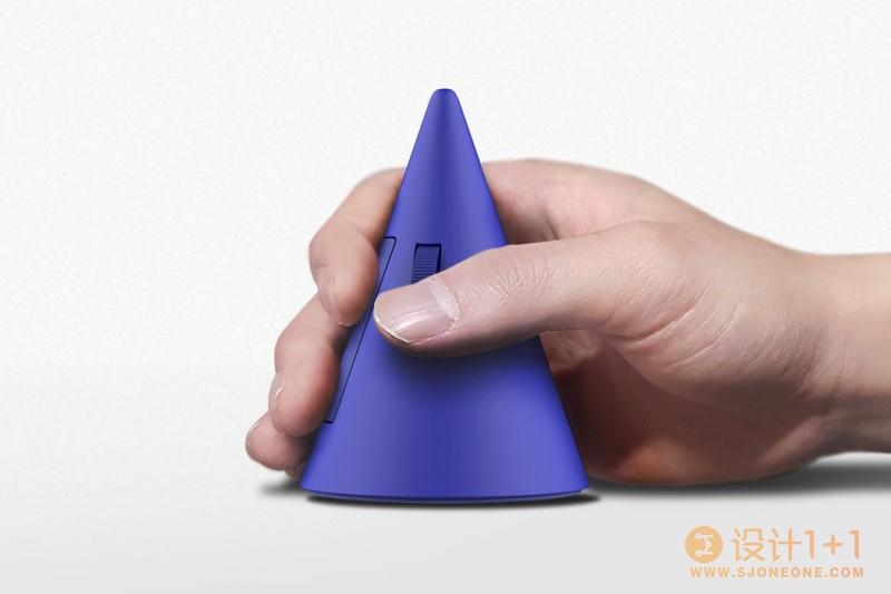 让你的手腕放轻松 Inyeop Baek推出圆锥形鼠标