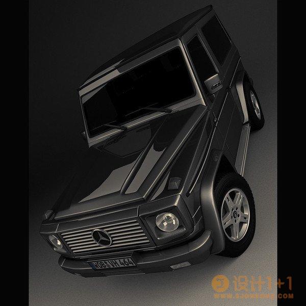 50张惊艳的3D汽车渲染