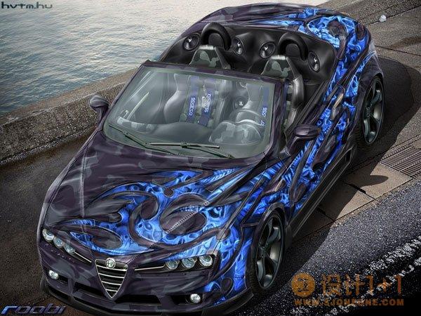RobertKovacs赛车CG渲染作品