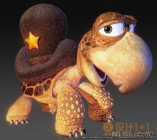 出色的3D动物艺术作品