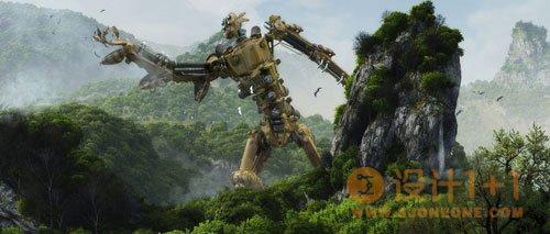 65个漂亮的3D场景设计欣赏