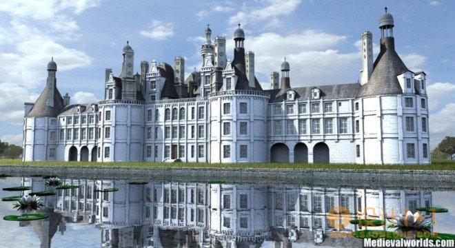 SvenDannart中世纪建筑和风景3D艺术