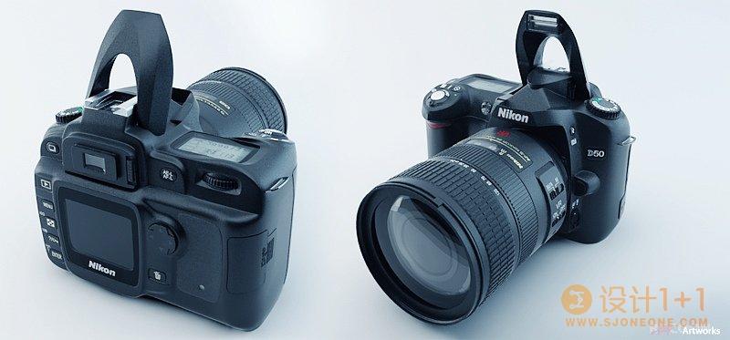 逼真设计的3D照相机
