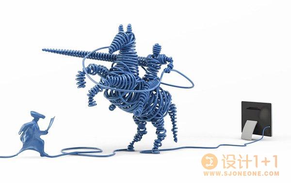 令人赞叹的一组3D艺术作品
