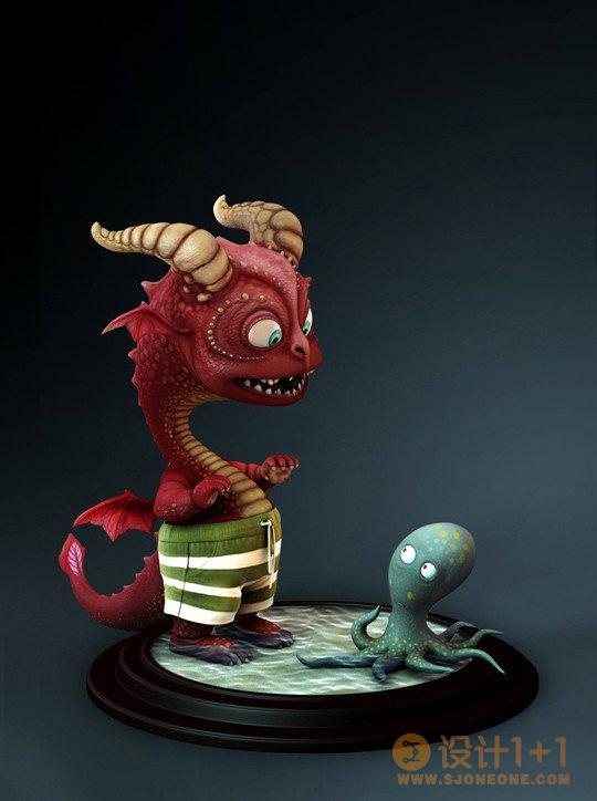 难以置信的逼真3D艺术作品