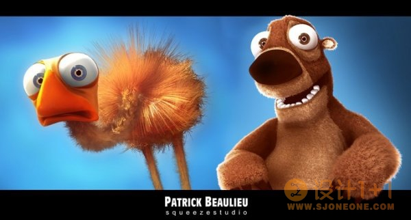 PatrickBeaulieu3D角色设计
