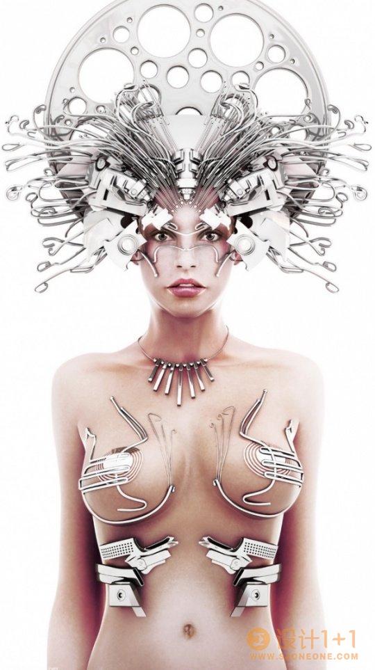 惊人的创造力:3D艺术作品欣赏