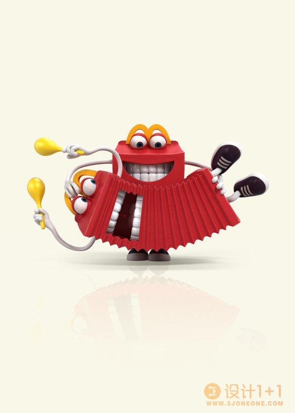 NicolasLesaffre可爱卡通3D角色设计
