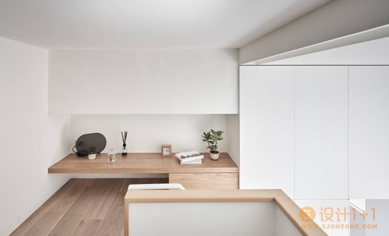 台湾17平米微型阁楼小公寓设计