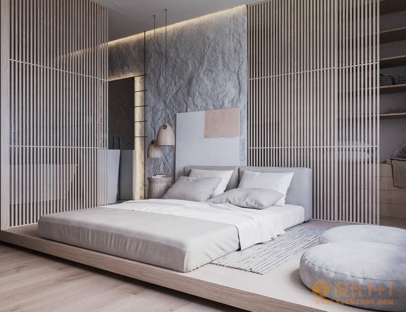 瑞士86㎡简约日式风单身公寓设计