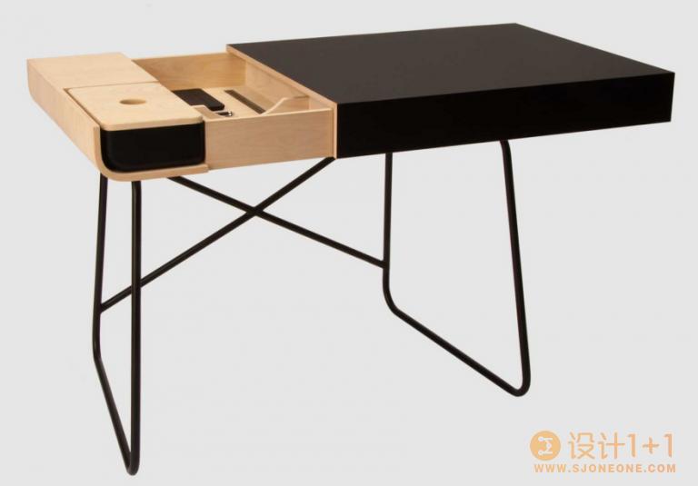 7款巧妙收纳功能的办公桌设计