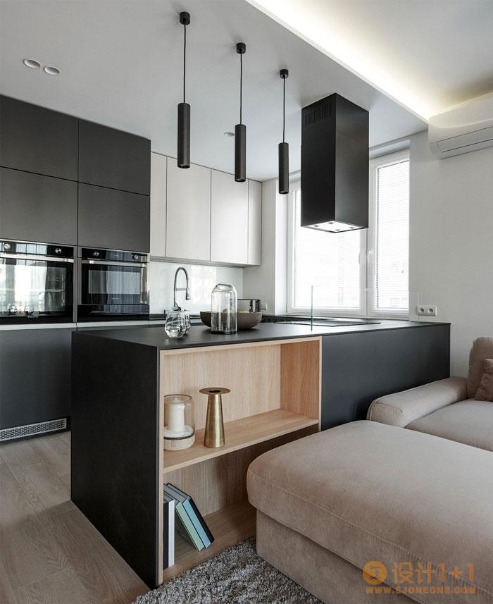波兰舒适现代的72平米公寓设计
