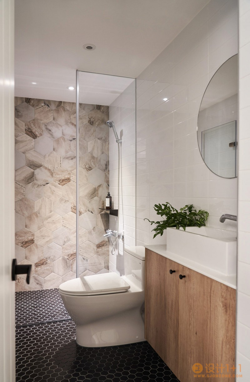清亮明朗的白色简约住宅设计