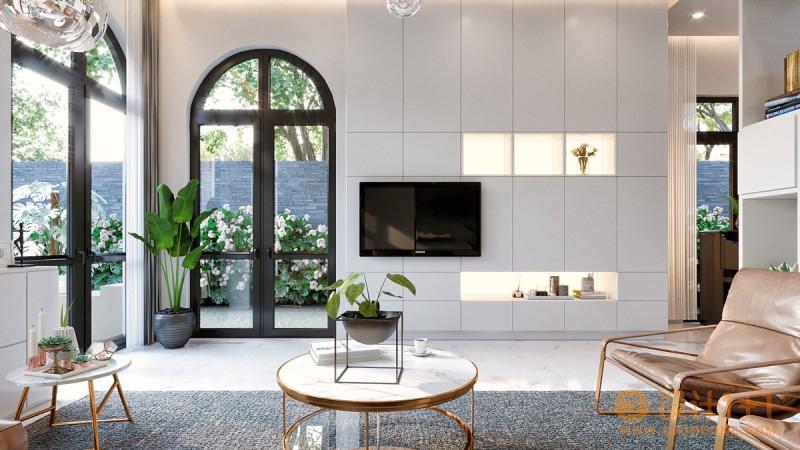 50个漂亮的客厅电视背景墙设计