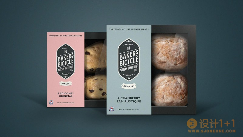 Bakers Bicycle面包店品牌包装设计