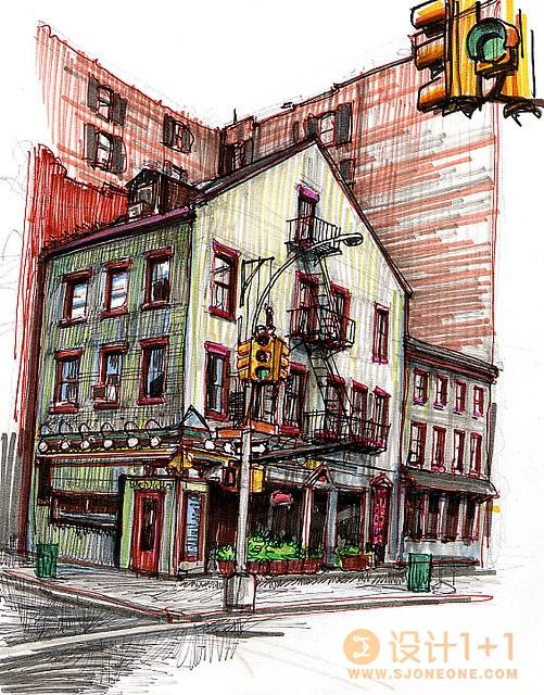 Stephen Gardner细腻画笔下的酒吧和咖啡馆