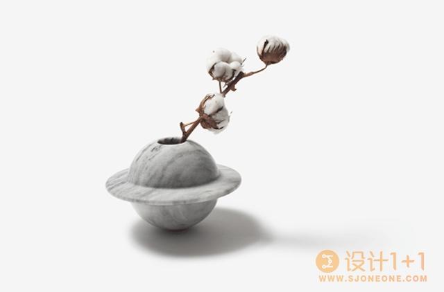 韩国设计师Kim HyunJoo的土星花瓶