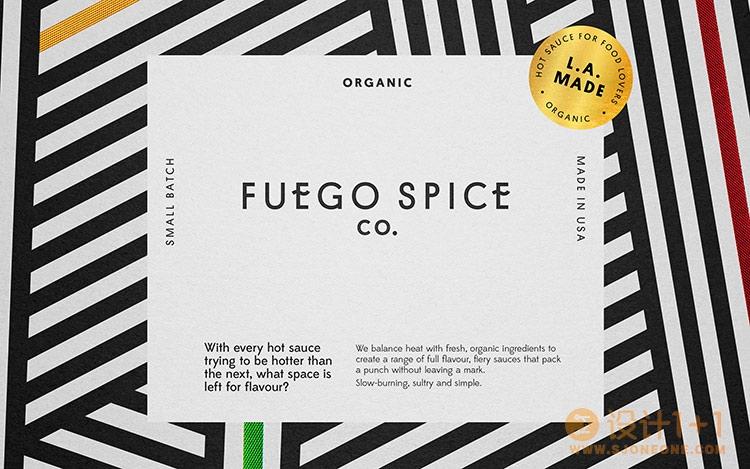 Fuego调味酱包装设计