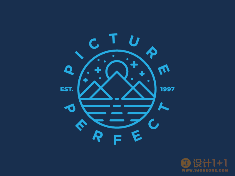 65款线条风格logo设计