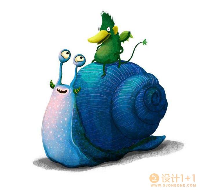 Emilia Dziubak充满童趣的儿童插画作品