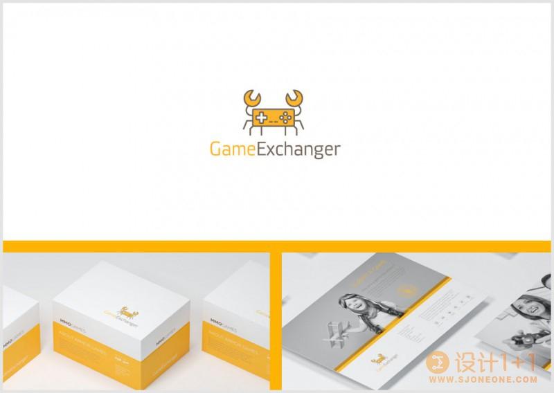 Denis Ulyanov创意logo设计作品