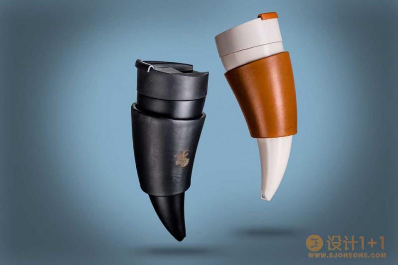 desnahemisfera:创意羊角咖啡杯