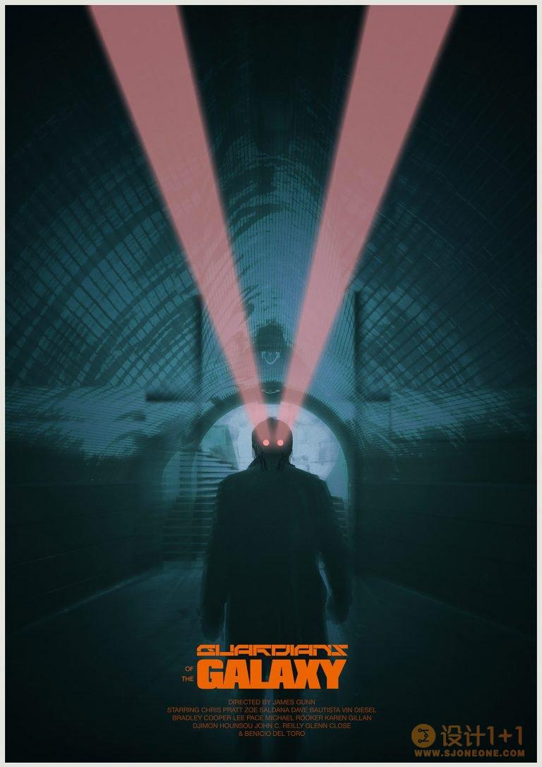 Pete Majarich极简风格电影海报设计