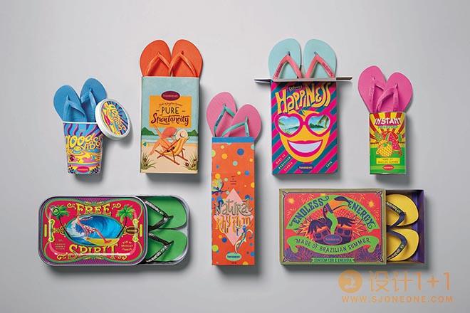 巴西夏季制造:Havaianas人字拖海报设计