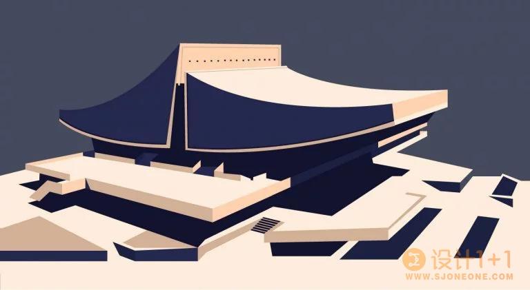 亚美尼亚艺术家Nvard Yerkanian美丽极简风格建筑插画