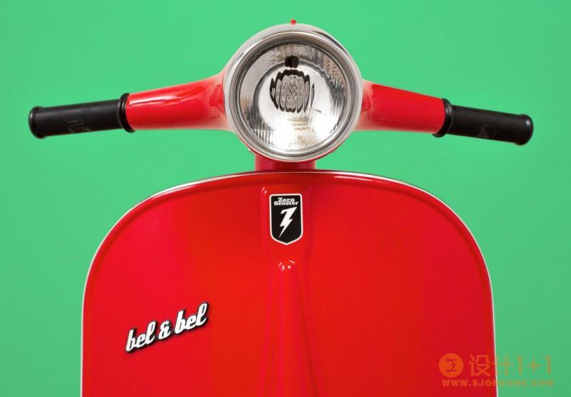 踏板摩托车与电动平衡车的混合产品Z-scooter